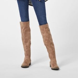 Just Fab Abbie Stretch Over the knee boots